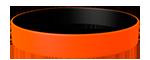 021C/Black <br> Orange/Black