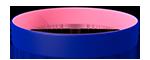 072C/210C <br> Blue/Pink
