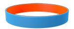 284C/021C <br> Light Blue/Orange