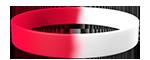 White/186C <br> White/Red