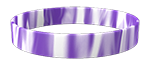 266C/White <br> Purple/White